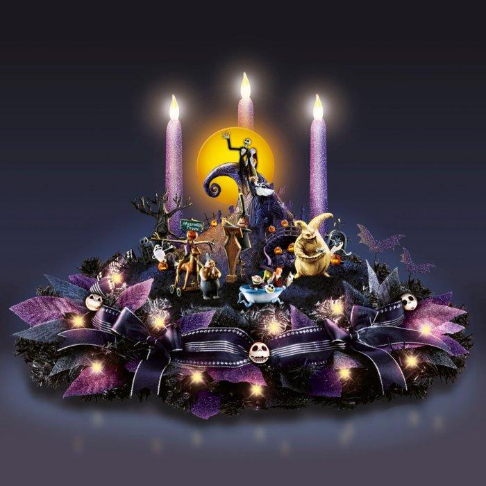 Disney Tim Burton The Nightmare Before Christmas Table Centrepiece
