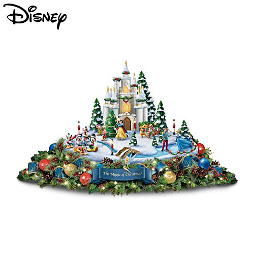 Disney 'Magic Of Christmas' Always In Bloom® Illuminated Centrepiece