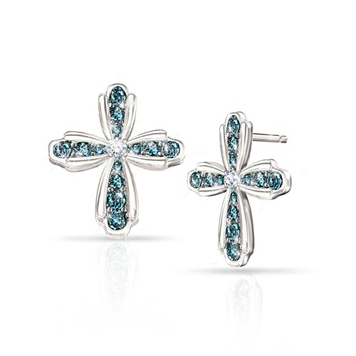'Heavenly Grace' Diamond Earrings