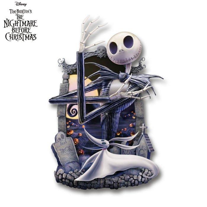 Disney Tim Burton Jack Skellington The Nightmare Before Christmas Wall Decor