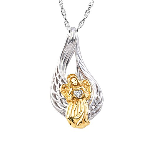 'On Angel's Wings' Diamond Pendant