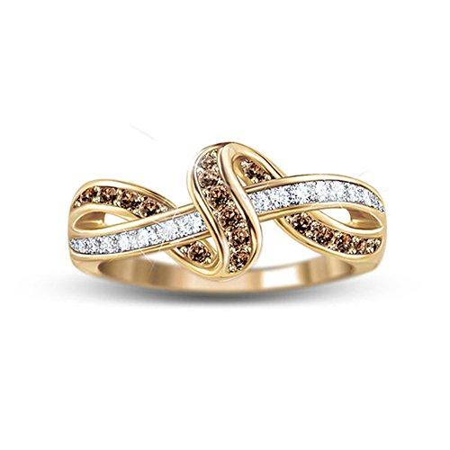 'Luxury In Mocha' Diamond Ring