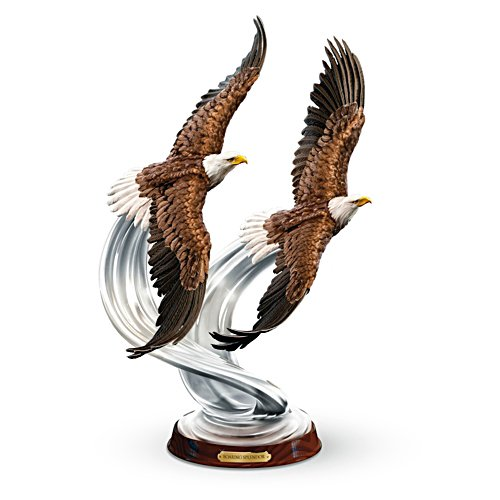 'Soaring Splendour' Eagle Sculpture