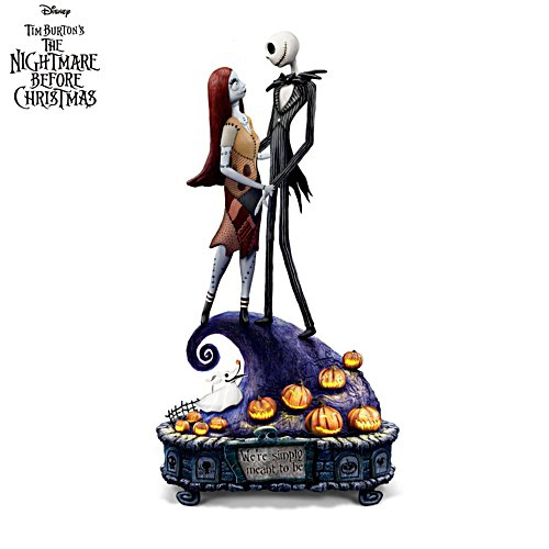 Disney Tim Burton The Nightmare Before Christmas 'Simply Meant To Be' Music Box