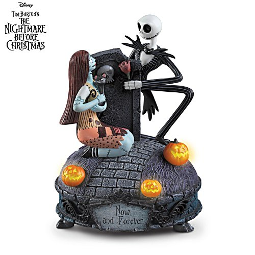 Disney Nightmare Before Christmas 'Now And Forever' Music Box