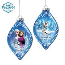 Disney FROZEN Ornaments: Set Two