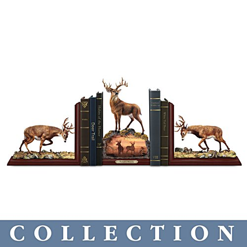 'Twilight's Majesty' Deer Bookends Collection