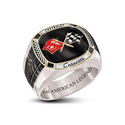 'Corvette®: The Legend' Men's Ring