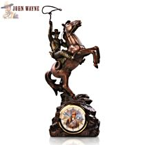'Timeless Legend' John Wayne Clock