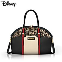 """Disney Mickey Mouse and Minnie Mouse """"Caught In The Moment"""" Women's Handbag"""