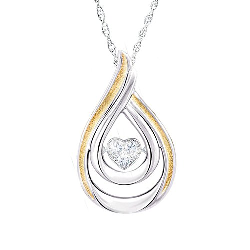 'Heartfelt Moments' Daughter Diamond Pendant