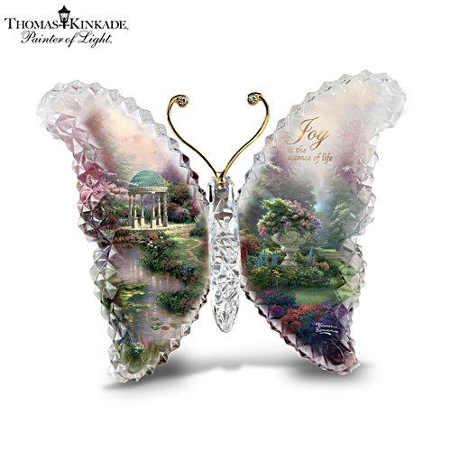 Thomas Kinkade 'Joy' Butterfly Crystalline Sculpture