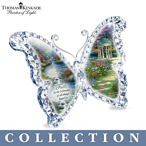 Thomas Kinkade 'Gardens Of Paradise' Butterfly Sculpture Collection