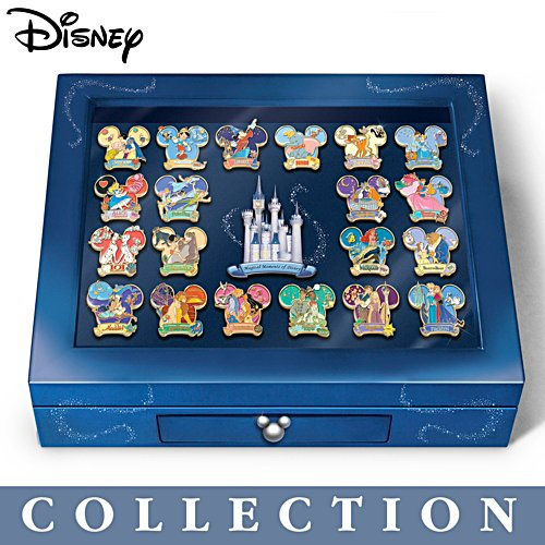 'The Magical Moments Of Disney' Pin Collection