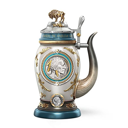 'Buffalo Nickel' Heirloom Stein