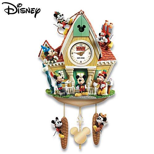 Mickey 'Through The Years' Cuckoo Clock