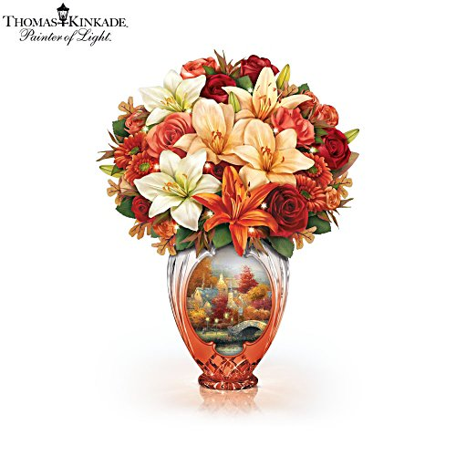 Thomas Kinkade 'Amber Elegance' Table Centrepiece