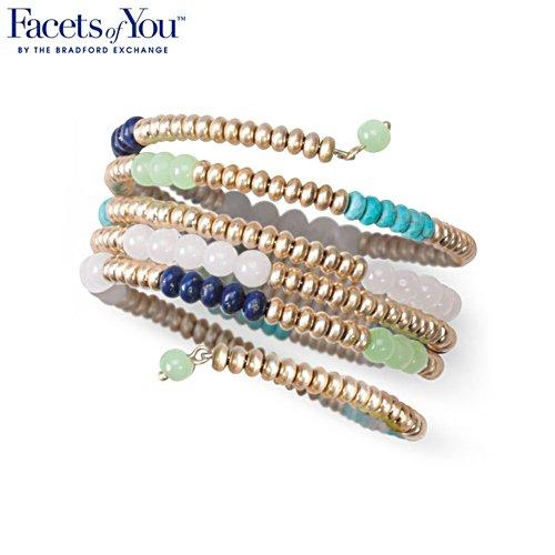 'Canyon Blues' Coil Wrap Bracelet