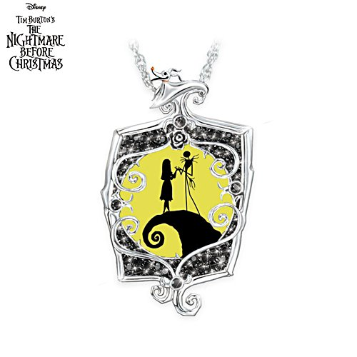 Disney The Nightmare Before Christmas 'Glowing Love' Pendant