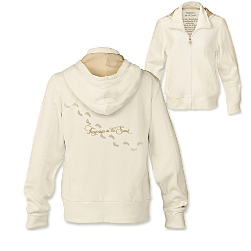 'Footprints In The Sand' Women's Hoodie