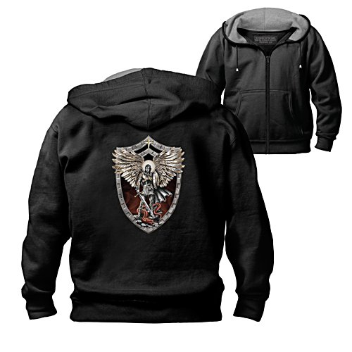 'Triumph Of St. Michael The Archangel' Men's Hoodie
