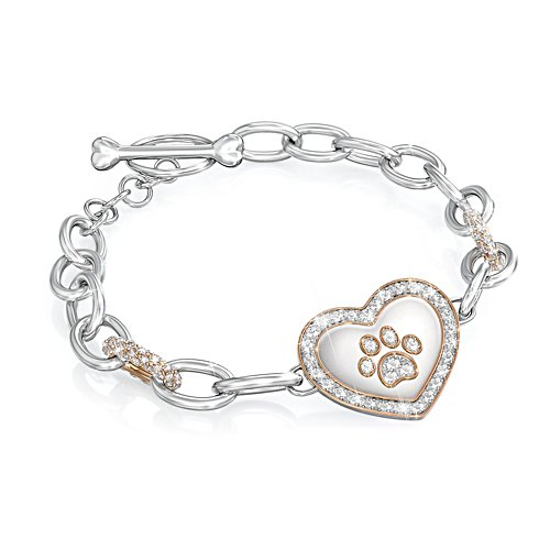 'Dog Lover's' Swarovski® Crystal Bracelet