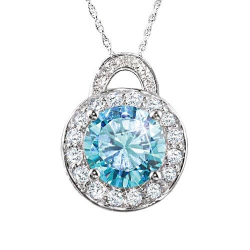 'Queen Elizabeth II' Diamonesk® Pendant