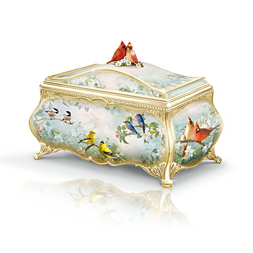 'Songbird Serenade' Heirloom Porcelain® Music Box
