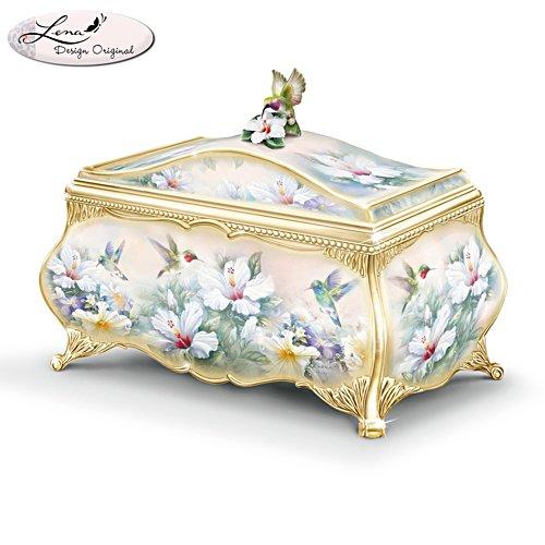 Lena Liu 'Jewels Of The Garden' Heirloom Porcelain Music Box