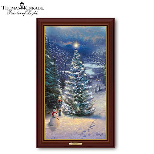 Thomas Kinkade 'O' Christmas Tree' Wall Décor