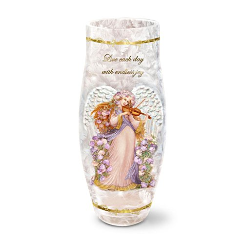 'Live Each Day With Endless Joy' Candleholder