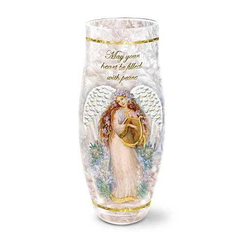 'May Your Heart Be Filled With Peace' Candleholder