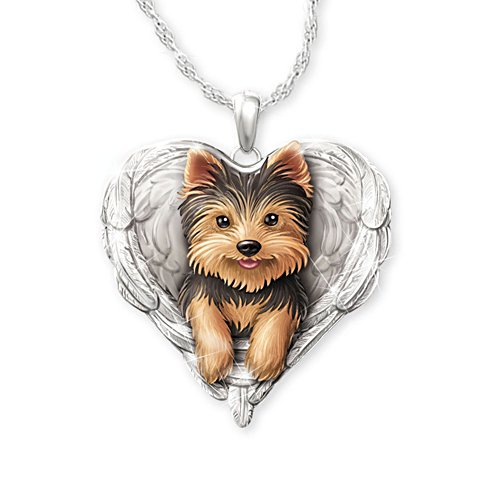 'Yorkies Are Angels' Pendant
