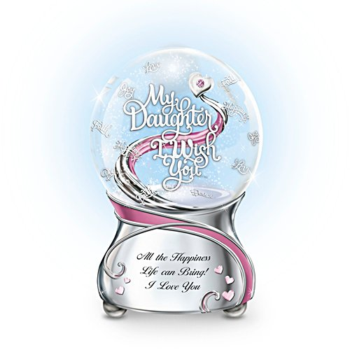 'My Daughter, I Wish You' Glitter Globe