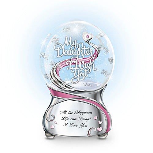 'My Daughter, I Wish You' Glitter Globe