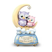 'I Love You To The Moon' Granddaughter Music Box