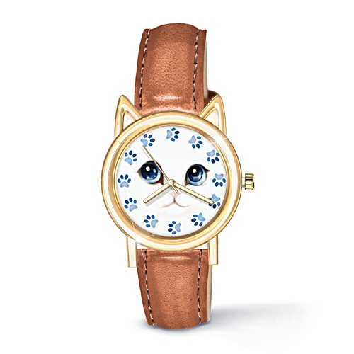 'Cat O-Clock' Women's Watch
