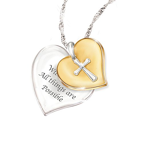 'Heart Of Faith' Diamond Pendant