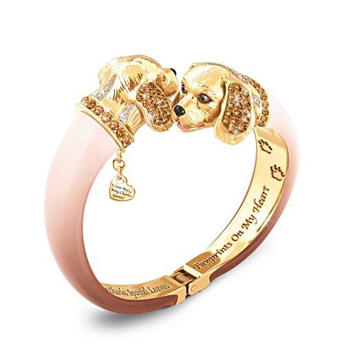 'Sophistipups' King Charles Spaniel Bracelet