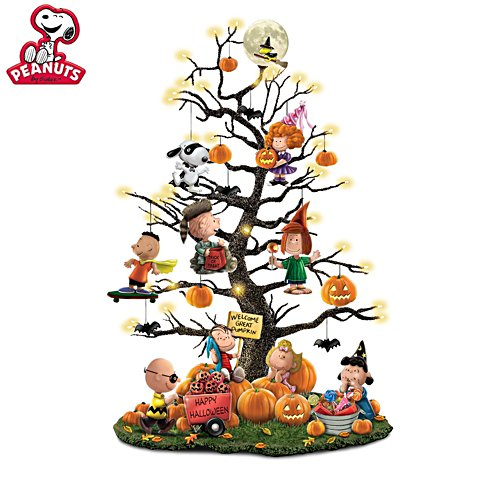 PEANUTS™ 'It's The Great Pumpkin' Halloween Tabletop Tree