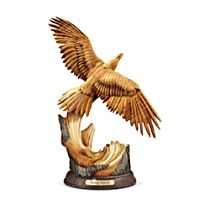 'Rising Majesty' Eagle Sculpture