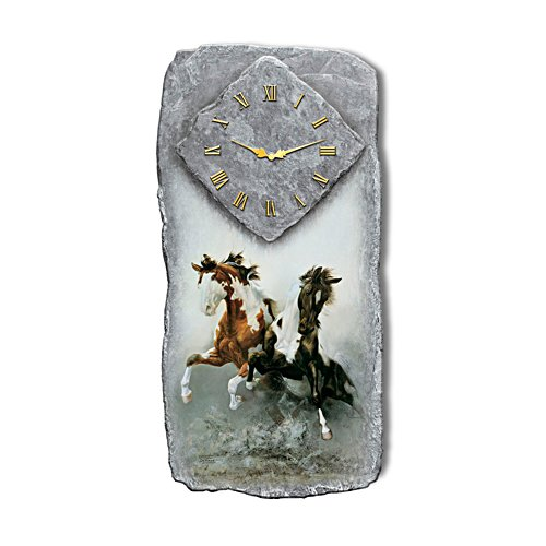'Spirit Of The Wild' Horse Wall Clock