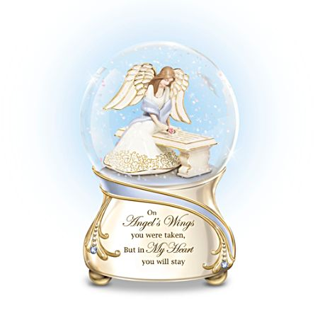 'Forever In My Heart' Glitter Globe