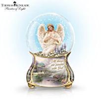 Thomas Kinkade 'Serenity Angel' Glitter Globe
