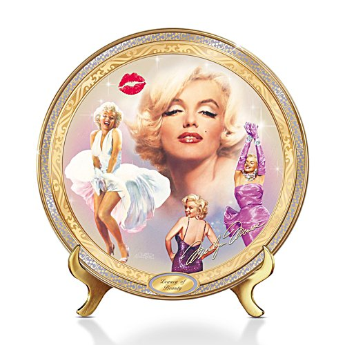'Marilyn Monroe: Legacy Of Beauty' Collector Plate