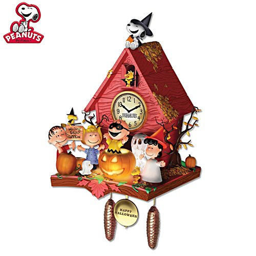 PEANUTS™ 'Halloween Party' Illuminated Wall Clock