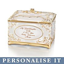 'My Granddaughter, I Love You' Personalised Music Box