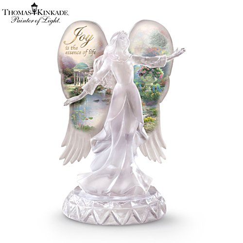 Thomas Kinkade 'Joy' Angel Figurine