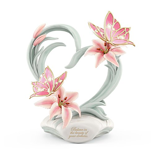 'Beauty Of Your Dreams' Musical Butterfly Figurine