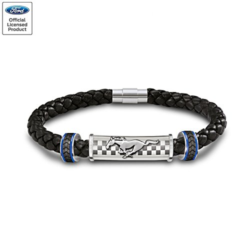 'Untamed American Spirit' Ford Mustang Men's Bracelet